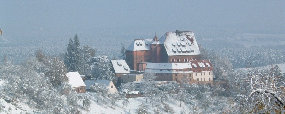 Burg Wernfels Winter