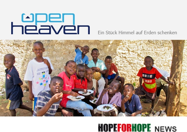 HOPE FOR HOPE News
