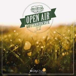 Read more about the article Open Air Gottesdienste / 11. + 18. Juli