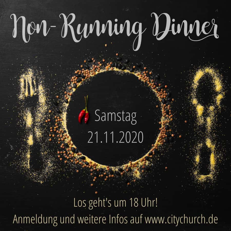 You are currently viewing Non Running Dinner / 21. November