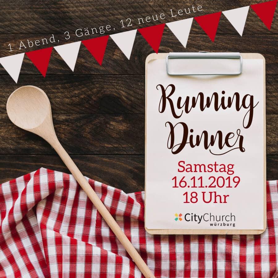 Running Dinner / 16. Nov