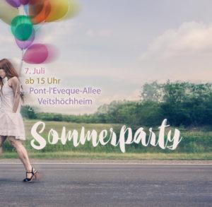 Sommerparty 7. Juli – läuft!