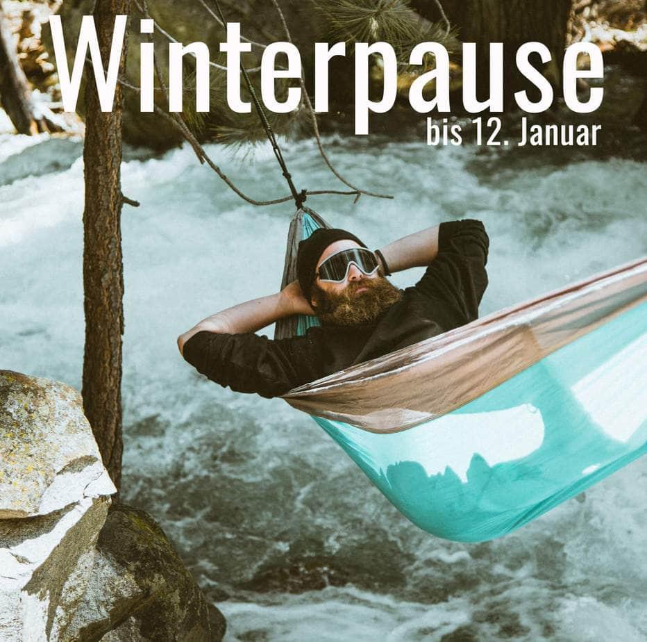 Winterpause / bis 12. Jan