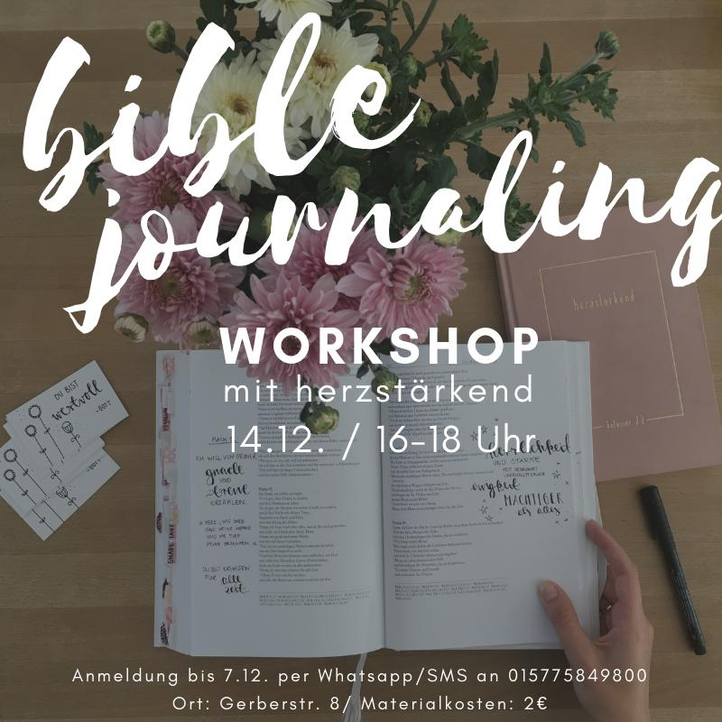Bible Journaling Workshop